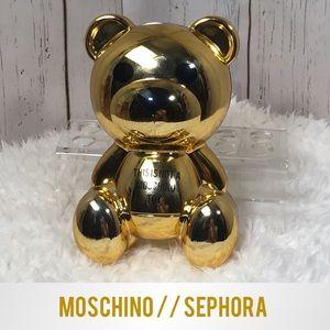 MOSCHINO Sephora NWOT Gold Bear Eyeshadow Palette